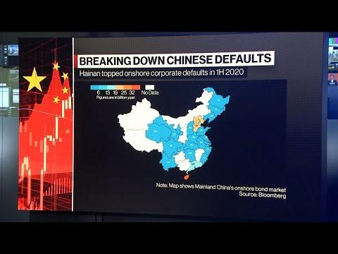 China Defaults Threaten Eerily Calm $12 Trillion Bond Market