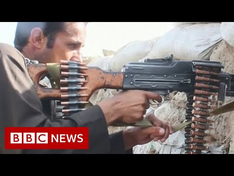 Taliban 'wage war' in Afghanistan as US and Nato withdraw forces - BBC News