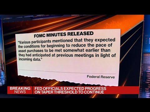 Fed Sees Progress Toward Tapering Move