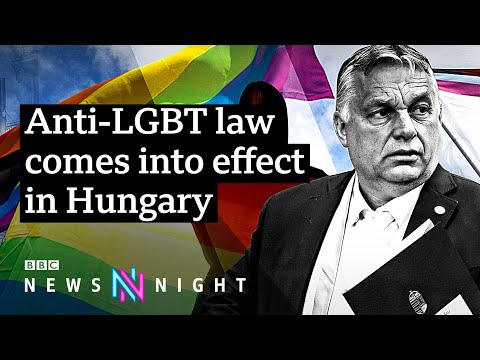 Hungary's anti-LGBT law: How should the EU respond? - BBC Newsnight