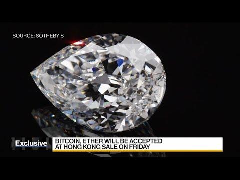 Sotheby's Accepting Crypto for Rare 101-Karat Diamond