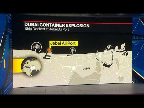Massive Blast at Dubai's Jebel Ali Port