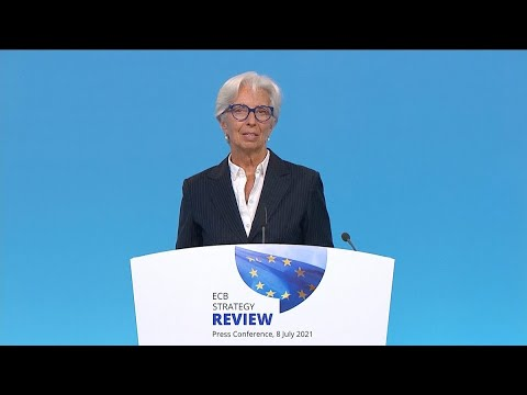 ECB's Lagarde Says 2% Inflation Target Is 'Not a Ceiling'