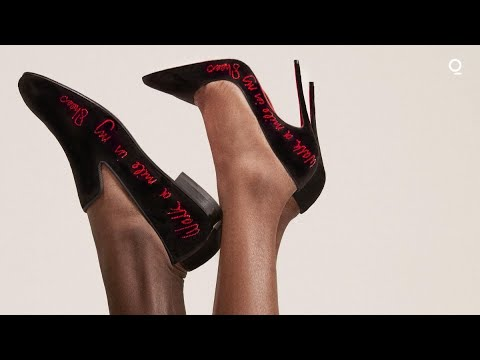Louboutin, Idris and Sabrina Elba Launch Social Justice Shoe Line