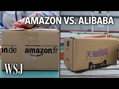 Alibaba Challenges Amazon With a Promise: Fast Global Shipping | WSJ