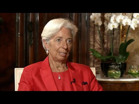 ECB's Lagarde on Inflation Target, Climate Change, Digital Euro