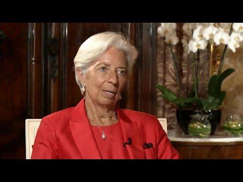 ECB's Lagarde 'Guardedly Optimistic' on Global Economy