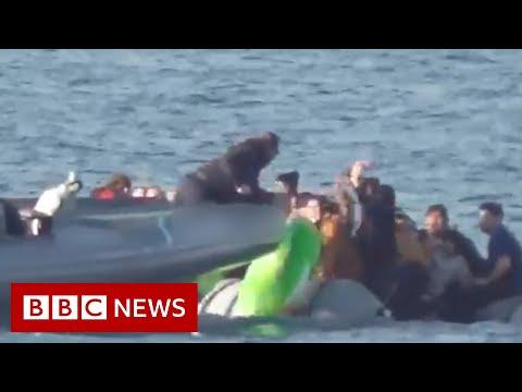 EU countries 'pushing back' asylum seekers at sea - BBC News