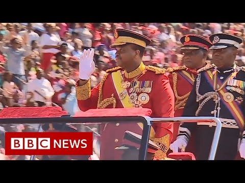 Fighting Africa's last absolute monarch in Eswatini - BBC News