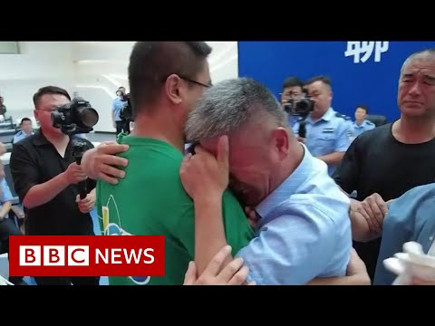 Father reunited with son snatched as baby 24 years ago in China - BBC News