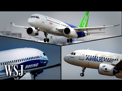 How Boeing and Airbus Could Counter China's Homegrown Comac Jets | WSJ