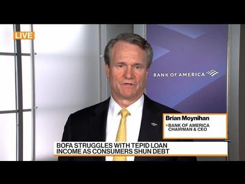 BofA CEO Moynihan Says U.S. Economy Is in Pretty Good Shape
