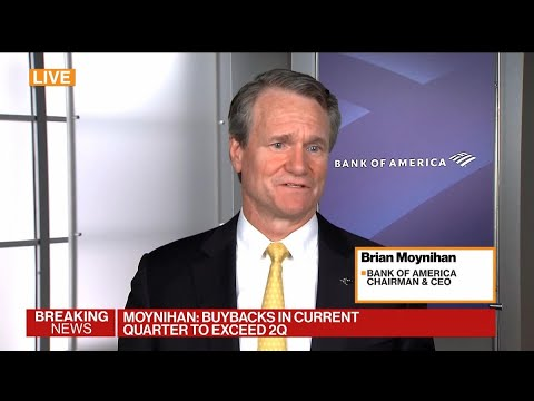 BofA CEO Moynihan on Return to Office: 'It's All Good'