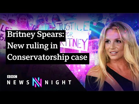 Britney Spears can hire own lawyer in conservatorship case - BBC Newsnight