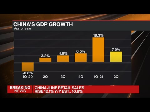 China's Economic Growth Slows to 7.9% in Second Quarter
