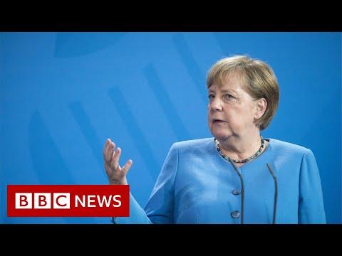 Angela Merkel's last trip to Washington after 16 years in office - BBC News
