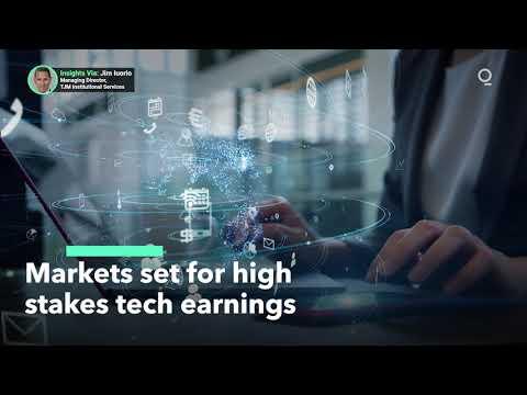 Tech-Heavy Nasdaq 100 Is Soaring Ahead of Earnings Season