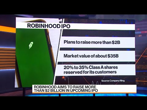 Robinhood Aims to Raise More Than $2 Billion in IPO