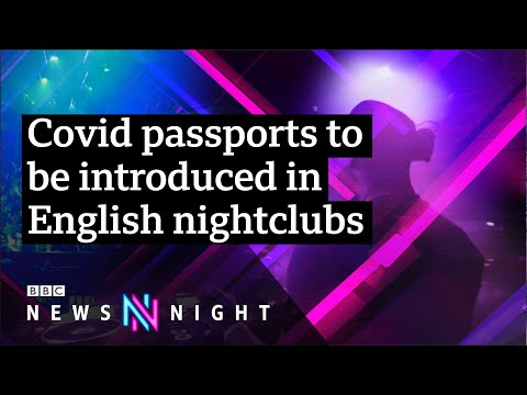 Will Covid passports be extended across England? - BBC Newsnight