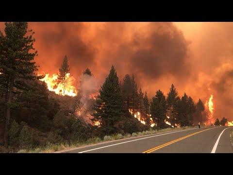 Major Wildfires Burning in American West Cause Smoky Skies