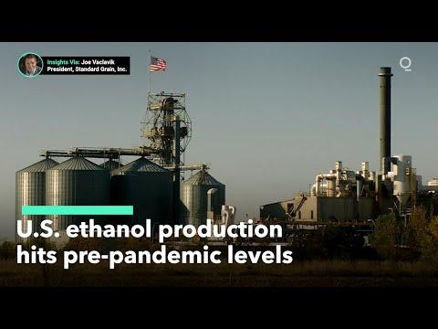 U.S. Ethanol Production Bounces Back