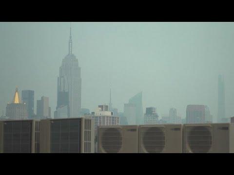 Hazy Skies in New York Blamed on Western Wildfires