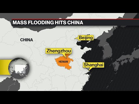Catastrophic Floods Sweep Through China's Henan Province
