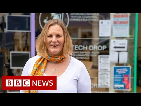 The repair shop aiming to fix throwaway culture - BBC News