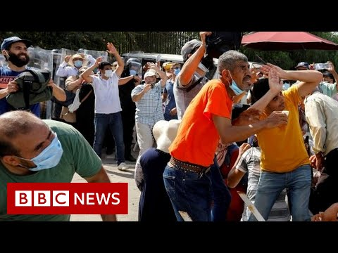 Tunisia's PM sacked after violent Covid protests - BBC News