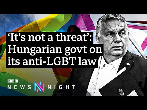Hungary to hold referendum on anti-LGBT law after EU legal action - BBC Newsnight