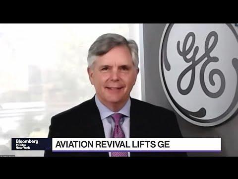 GE CEO Culp on Second-Quarter, Aviation Rebound, Inflation