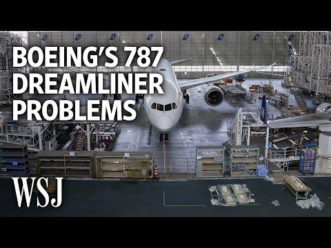 Boeing 787 Dreamliner: A Timeline of Recent Production Problems   WSJ