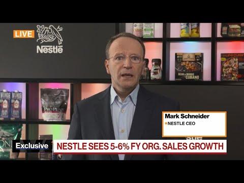 Nestle's Schneider on Higher Costs' Impacting Pandemic Rebound