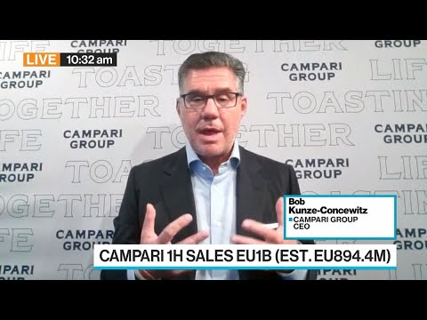 Campari CEO on 1H Earnings, M&A