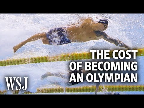 The Cost of Becoming an Olympic Swimmer for Team USA | WSJ