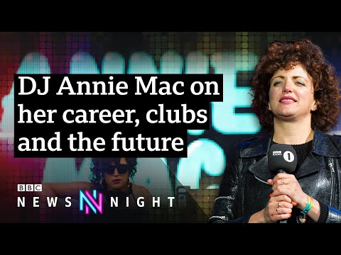 DJ Annie Mac on leaving Radio 1 and the future of the music industry - BBC Newsnight