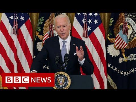 US President Biden calls for $100 vaccine incentive - BBC News
